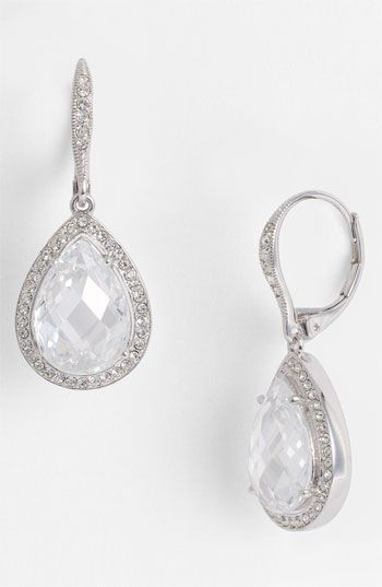 Beautiful Pear Drop Earrings