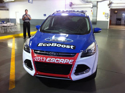 2013 Ford Escape to pace NASCAR races at Kentucky Speedway
