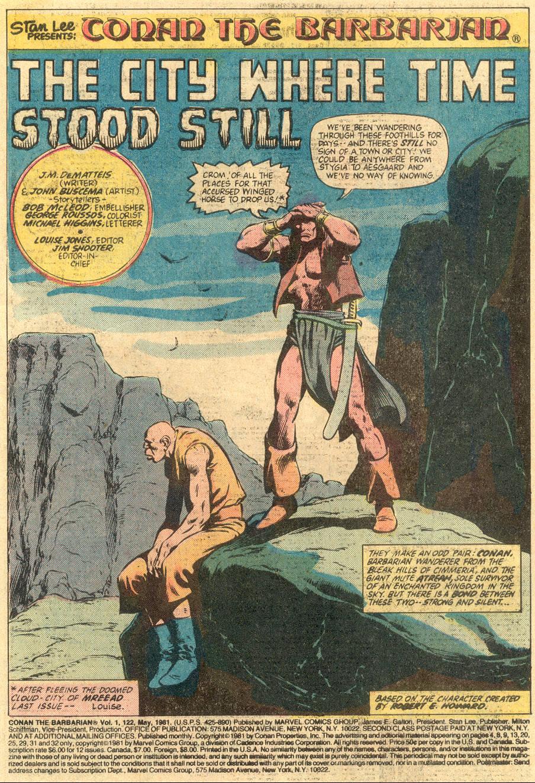 Conan the Barbarian (1970) Issue #122 #134 - English 2