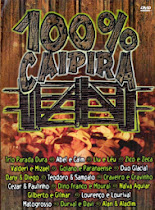DVD 100% Caipira Vol. 01