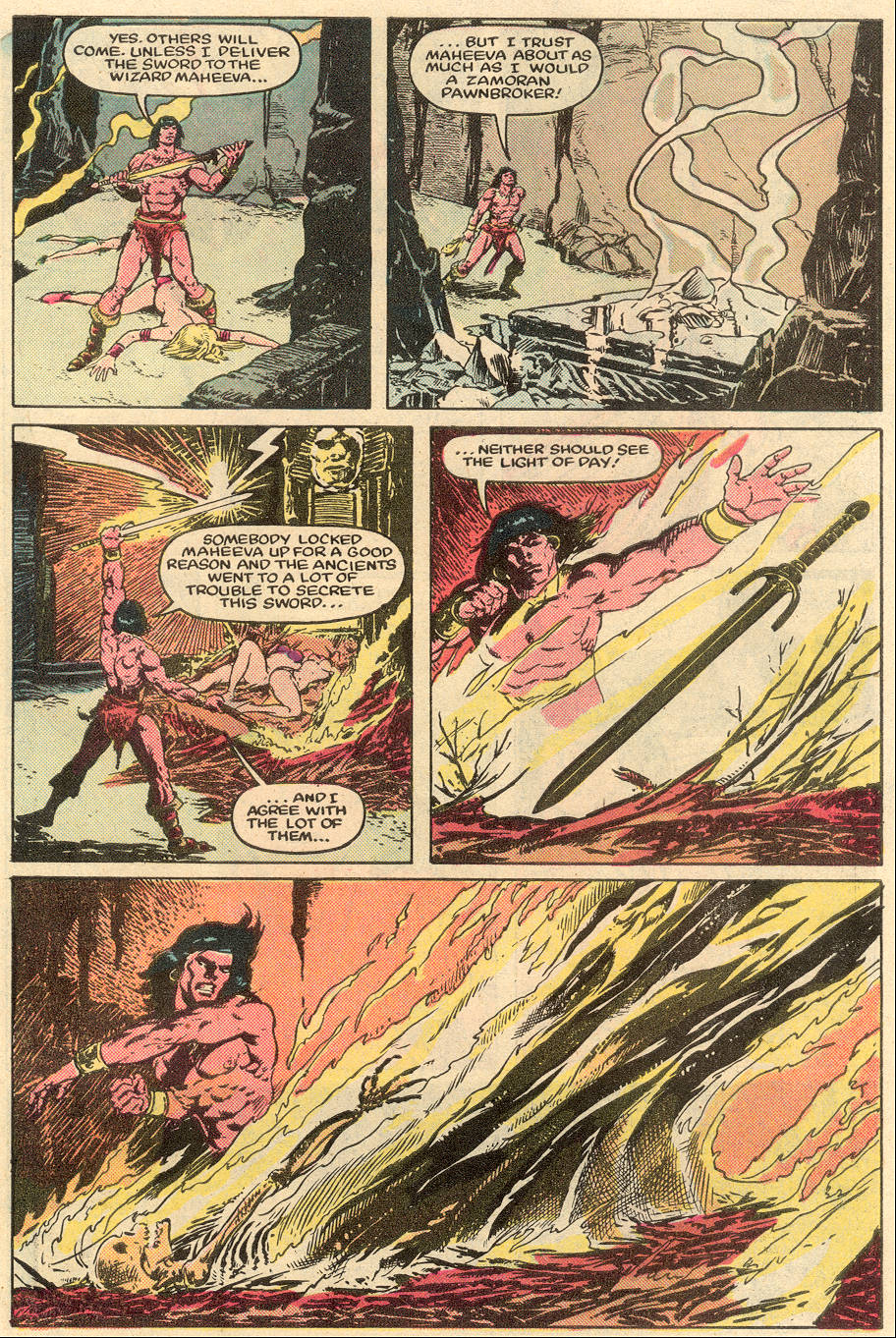 Conan the Barbarian (1970) Issue #164 #176 - English 22