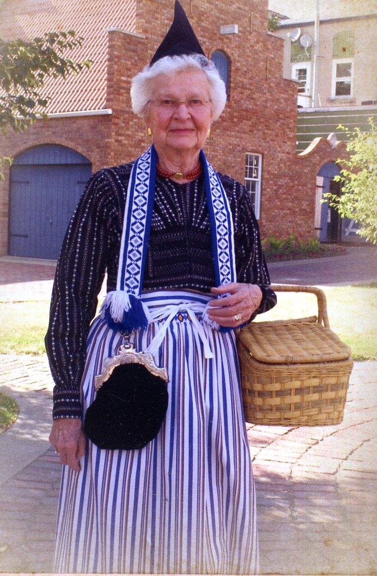 typical dutch woman