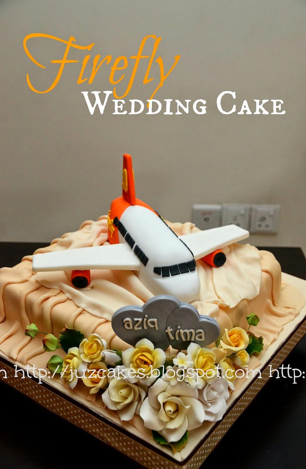 Firefly Wedding Cake