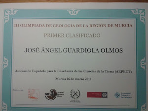 III Olimpiada de Geología Murcia