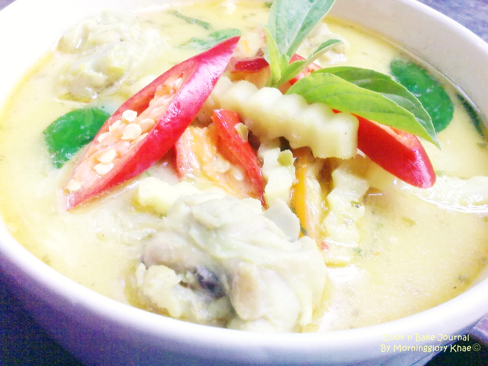 ... Thai green curry with coconut shoots | Cook n Bake Journal By