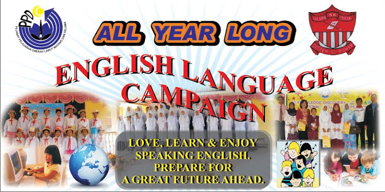 ENGLISH LANGUAGE CAMPAIGN 2011