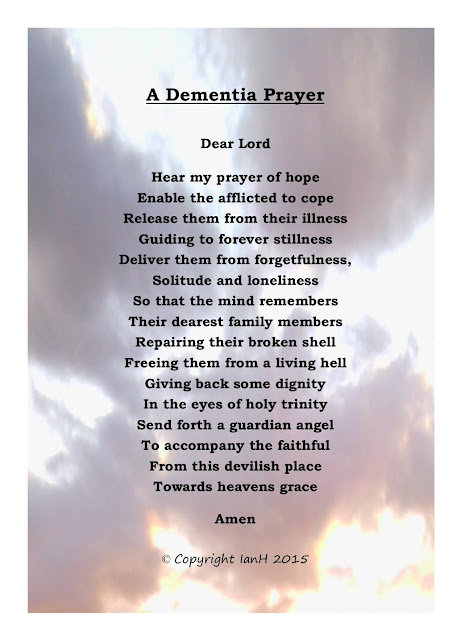 Dementia Carers Poems: November 2015