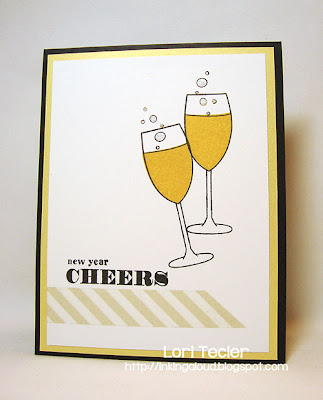 New Year Cheers-designed by Lori Tecler-Inking Aloud-stamps from Clear and Simple Stamps