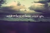 Con estar contigo, me conformo.