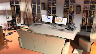 Studio with excellent view