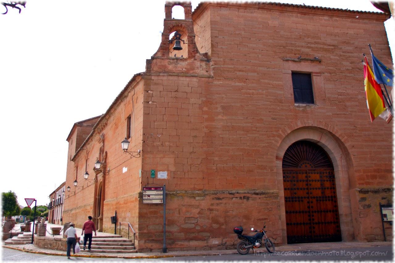 Fachada convento santo domingo, Vva Infantes