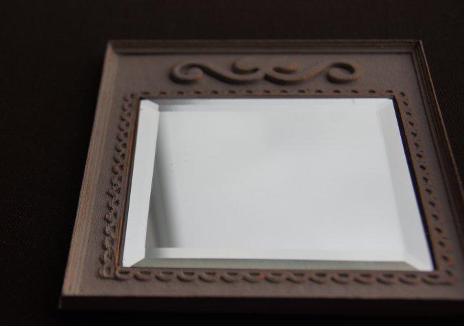 Nono mini nostalgie tutorial un miroir romantique for Coller un miroir