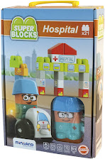 Miniland - Super Blocks Hospital