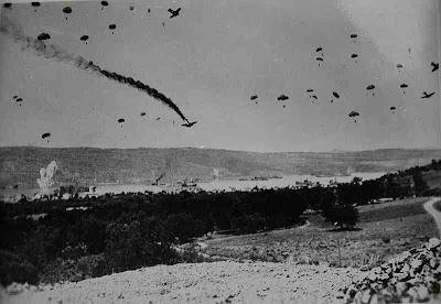 Μια σπάνια μαρτυρία ενός Γερμανού Αξιωματικού των Αλεξιπτωτιστών για την Μάχη της Κρήτης!!