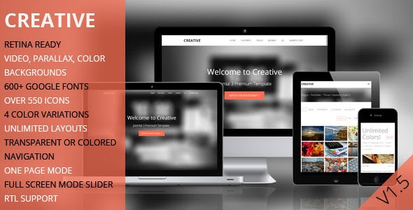 TD Creative – Responsive Joomla Template