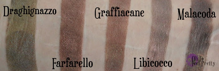 Aromaleigh Diavoli Swatches