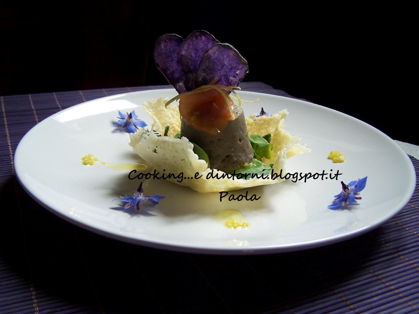 Ricette Con Patate Viola E Pesce