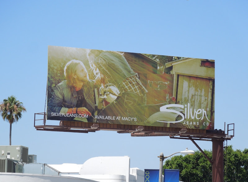 Silver Jeans sunshine billboard