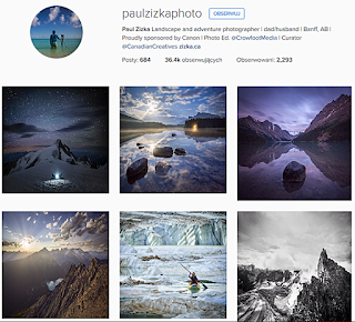 Paul Zizka, Instagram, profile podróżnicze