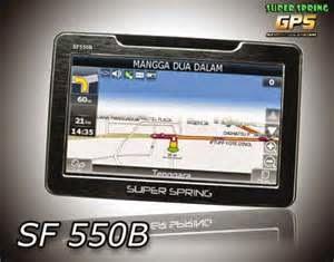 GPS navigasi dari Superspring ini menjadi solusi terbaik sebagai petunjuk jalan jika Anda sering bepergian ke tempat-tempat baru yang belum pernah dikunjungi. Harga GPS Superspring SF550B ini