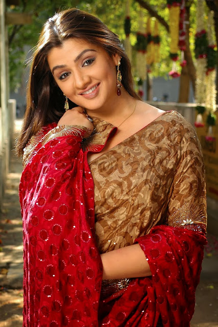 Aarthi Agarwal in Saree