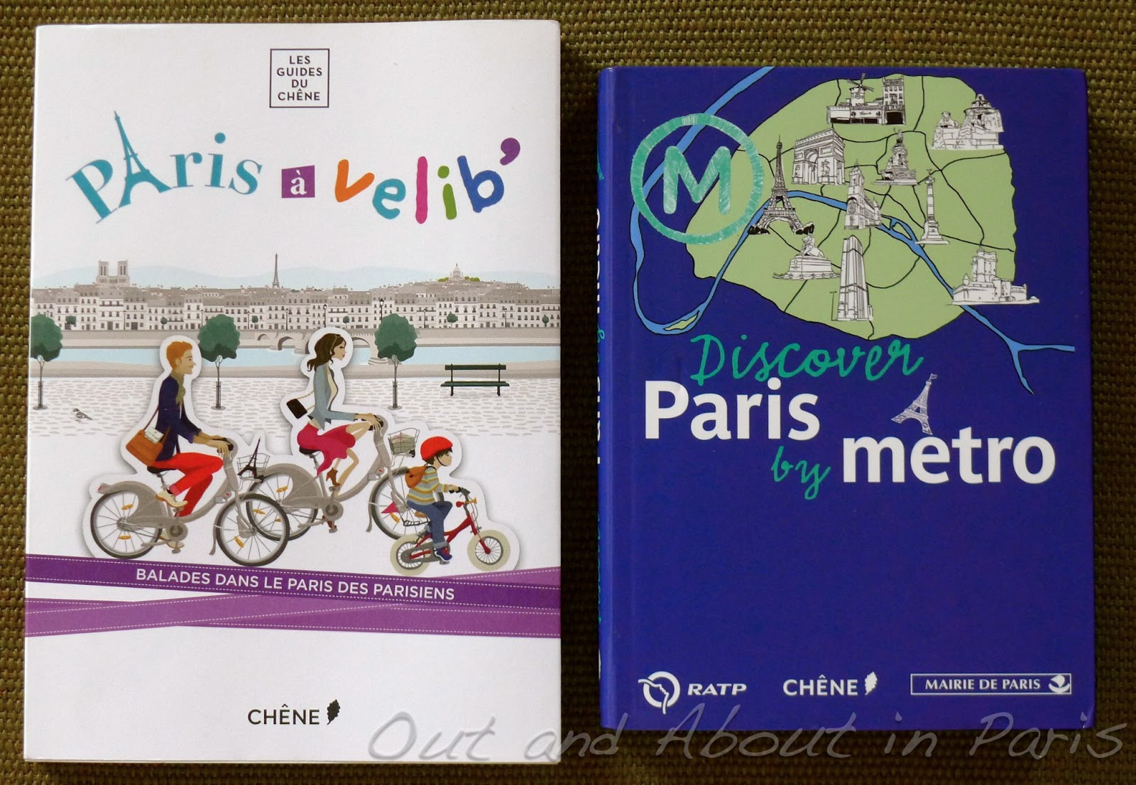 Two Books That Will Take You Off The Beaten Track Paris By Bike And Discover Metro