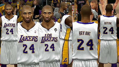 NBA 2K14 Lakers Latin Nights Uniforms
