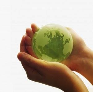 Saving the world with renewable energy.