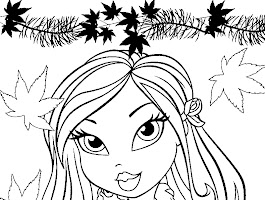 Printable Cheerleading Coloring Pages