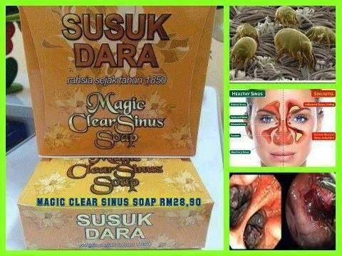 MAGIC CLEAR SINUS SOAP