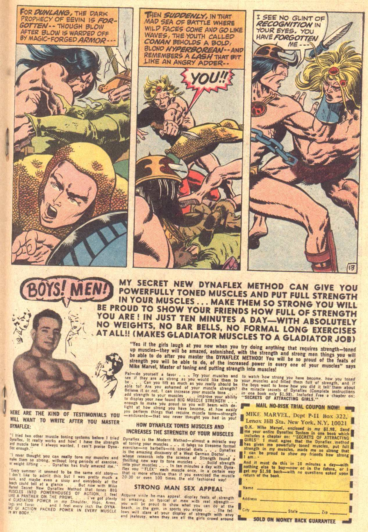 Conan the Barbarian (1970) Issue #3 #15 - English 14