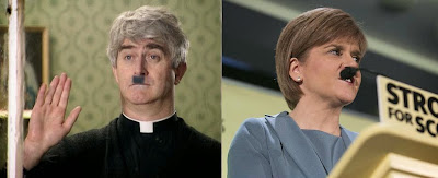 Fr Ted and Nicola Sturgeon