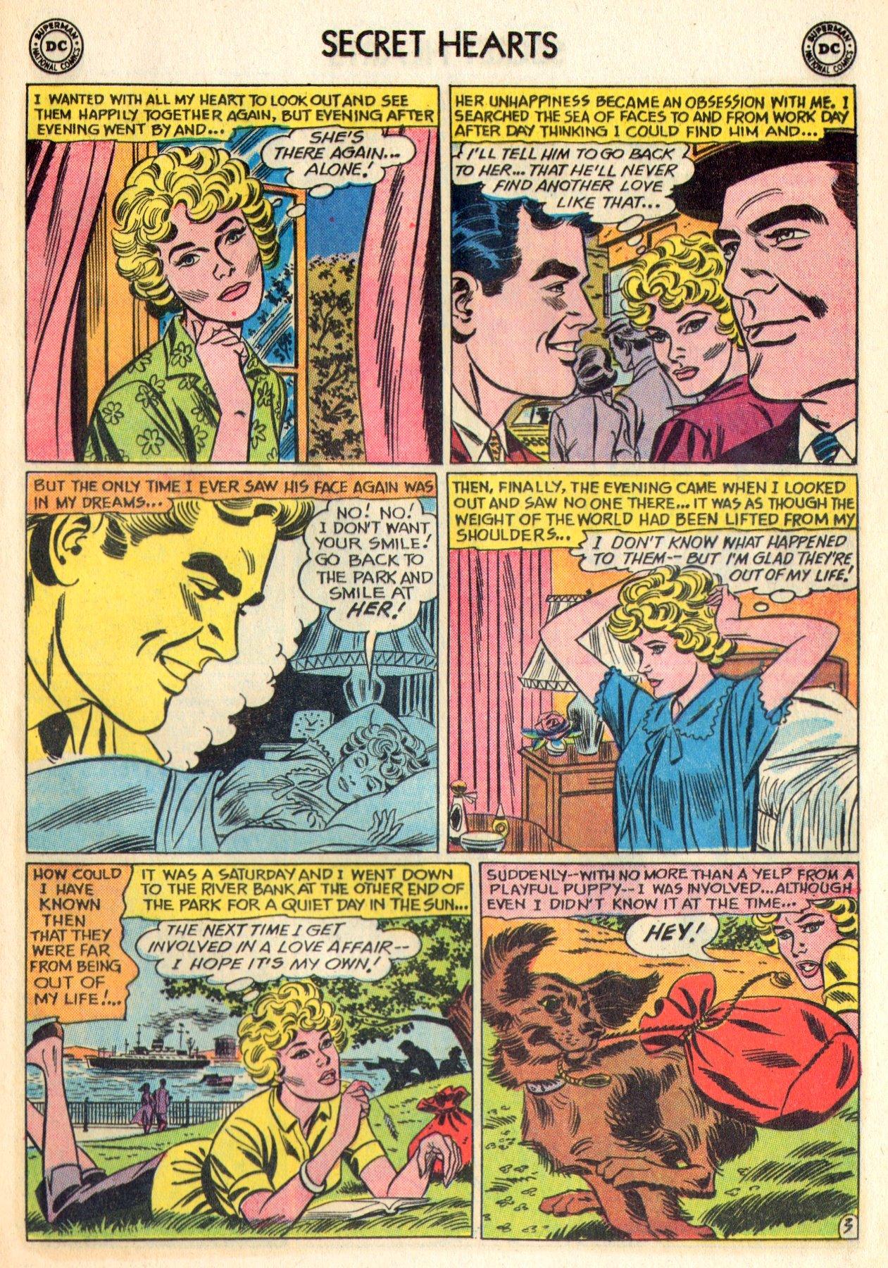 Read online Secret Hearts comic -  Issue #84 - 29