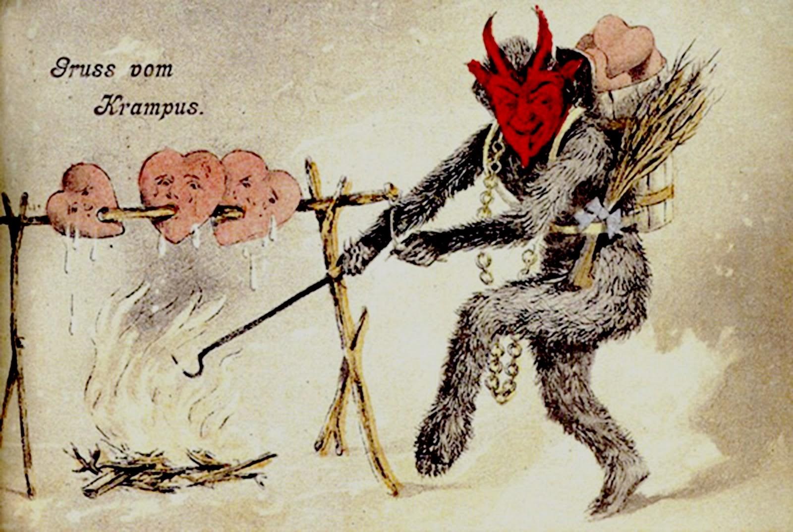 Ausmalbilder Nikolaus Krampus : Itt A Kreature Named Krampus