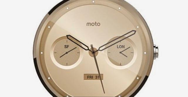 Smartwatch Moto 360 có thêm tùy chọn dây kim loại