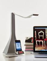Lámpara con base de Apple