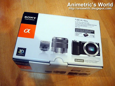 Sony NEX-5N Compact Interchangeable Lens Camera