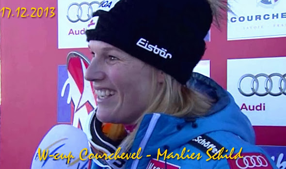 Marlies Schild Courchevel 2013