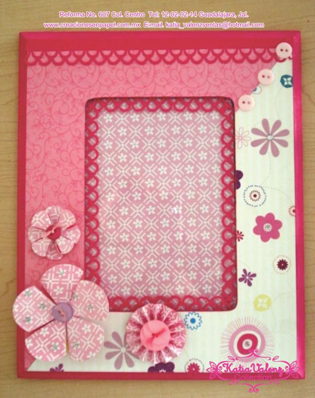 Aqui pueden apreciar la flores hechas con el papel de SP y todas a