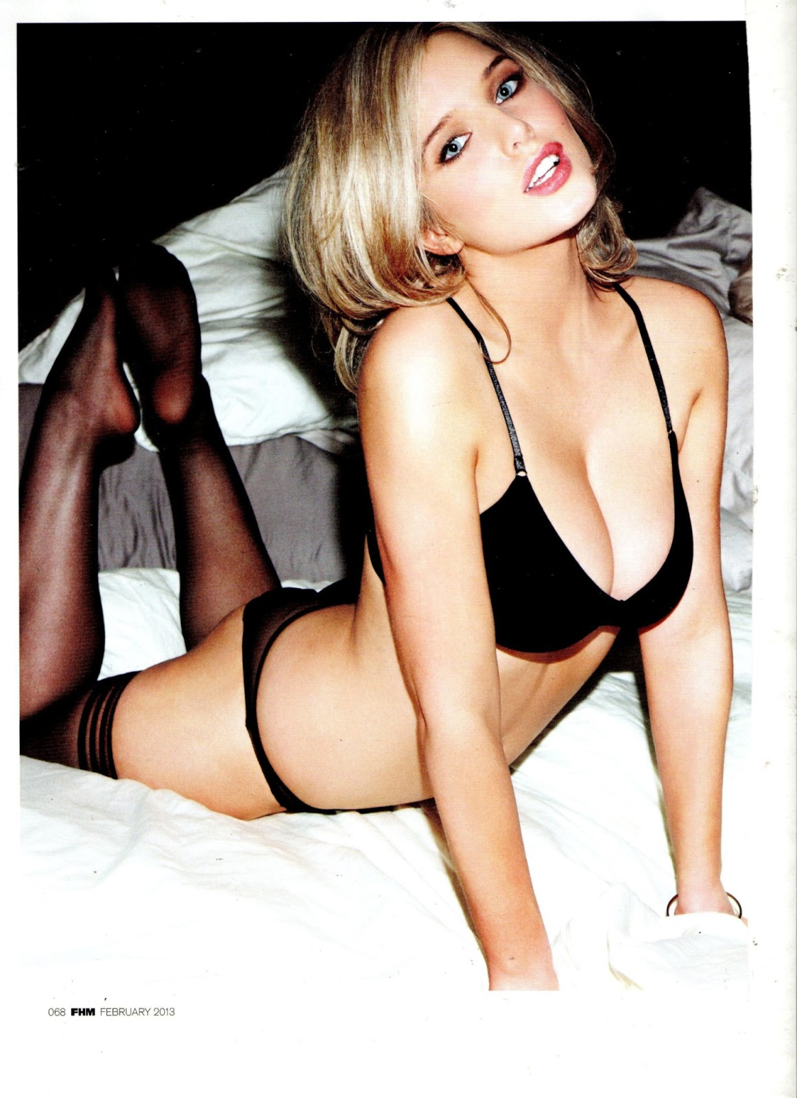Helen Flanagan FHM Magazine (February 2013) | Nash's Blog
