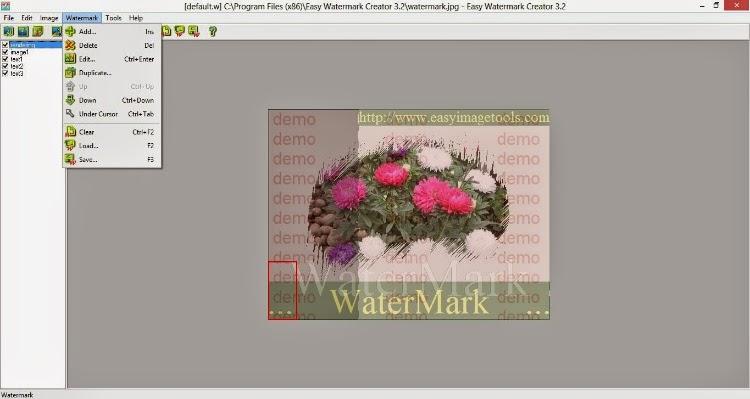 Easy Watermark Creator حفظ الصور بشعار و لوجو
