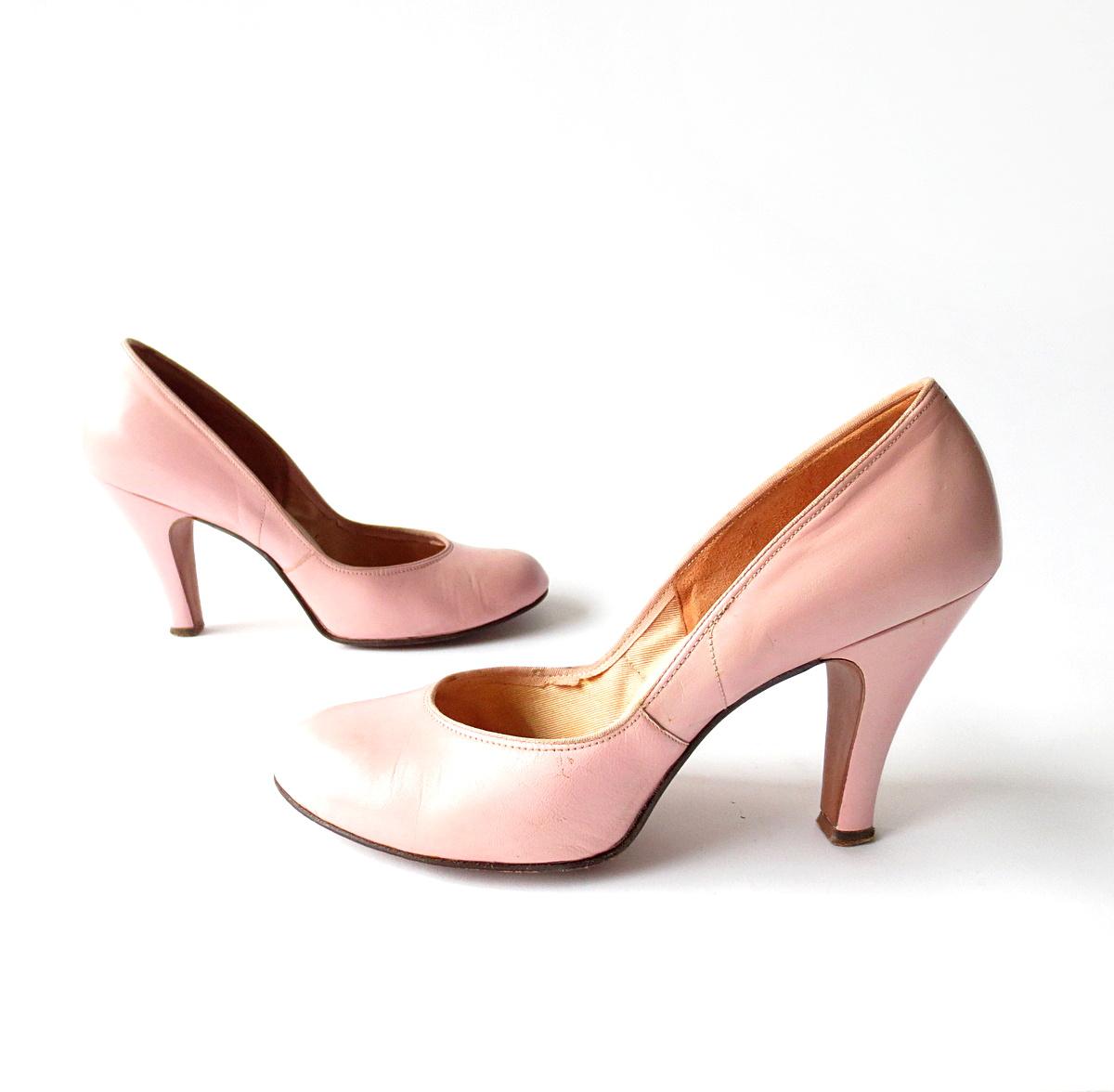 Vintage Pink Heels