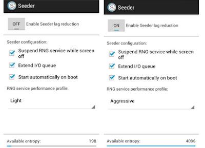 Seeder - Screenshot