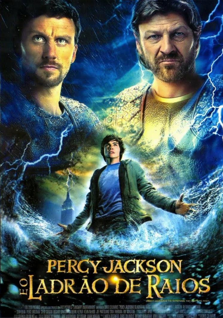 Filme Percy Jackson E O Ladrão De Raios Dublado AVI DVDRip