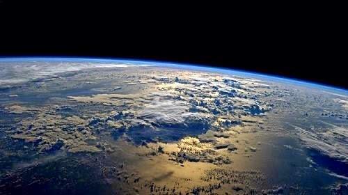 foto particula extraterrestre