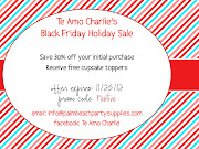 Black Friday Deals on Your Holiday Purchase (teamocharlieblackfridaydeals)