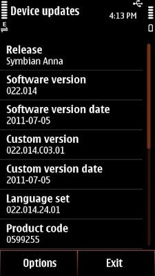Upgrade from Symban^3 to Symbian Anna
