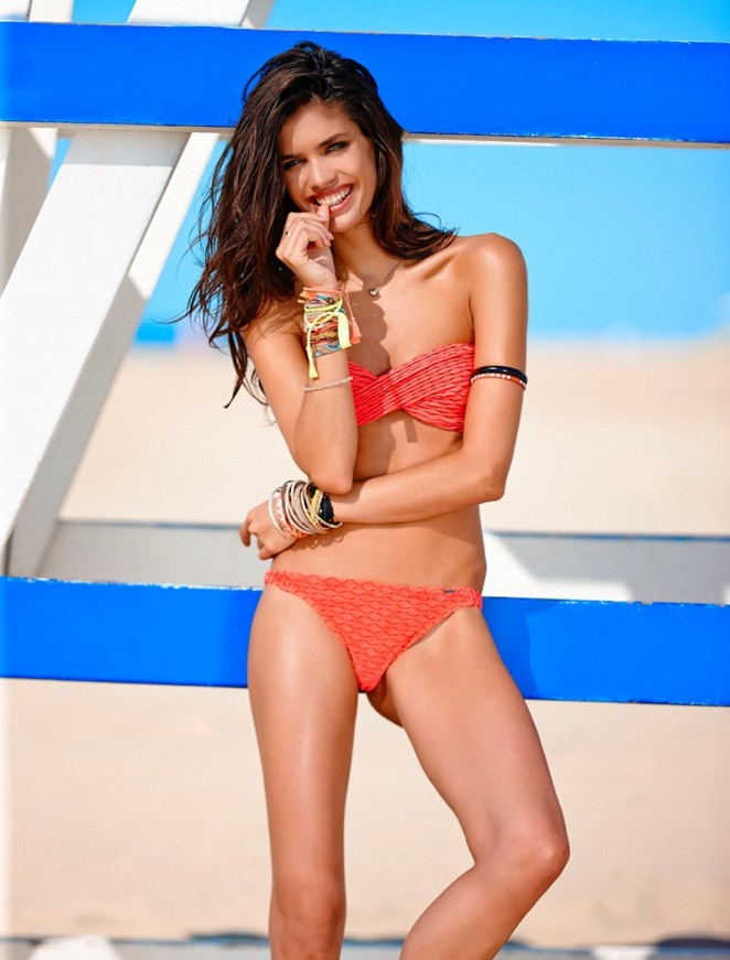 Banana Moon Spring/Summer 2015 Swim Campaign featuring Sara Sampaio