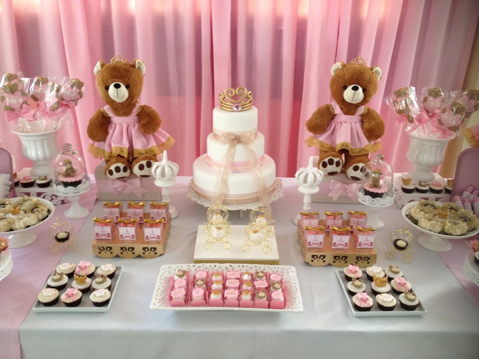 festa jardim da princesa : festa jardim da princesa: PROVENÇAL : Festa de Aniversário 1º Aninho – Ursinhas Princesas