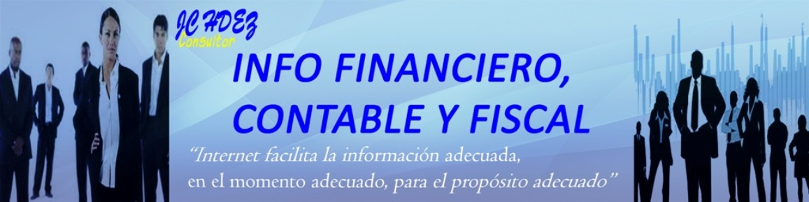 INFO FINANCIERO, CONTABLE Y FISCAL